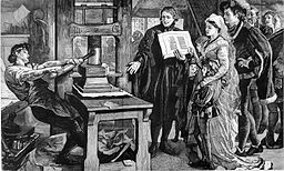 The Caxton Celebration William Caxton showing specimens of his printing to King Edward IV and his Queen 2