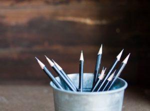 cup of pencils